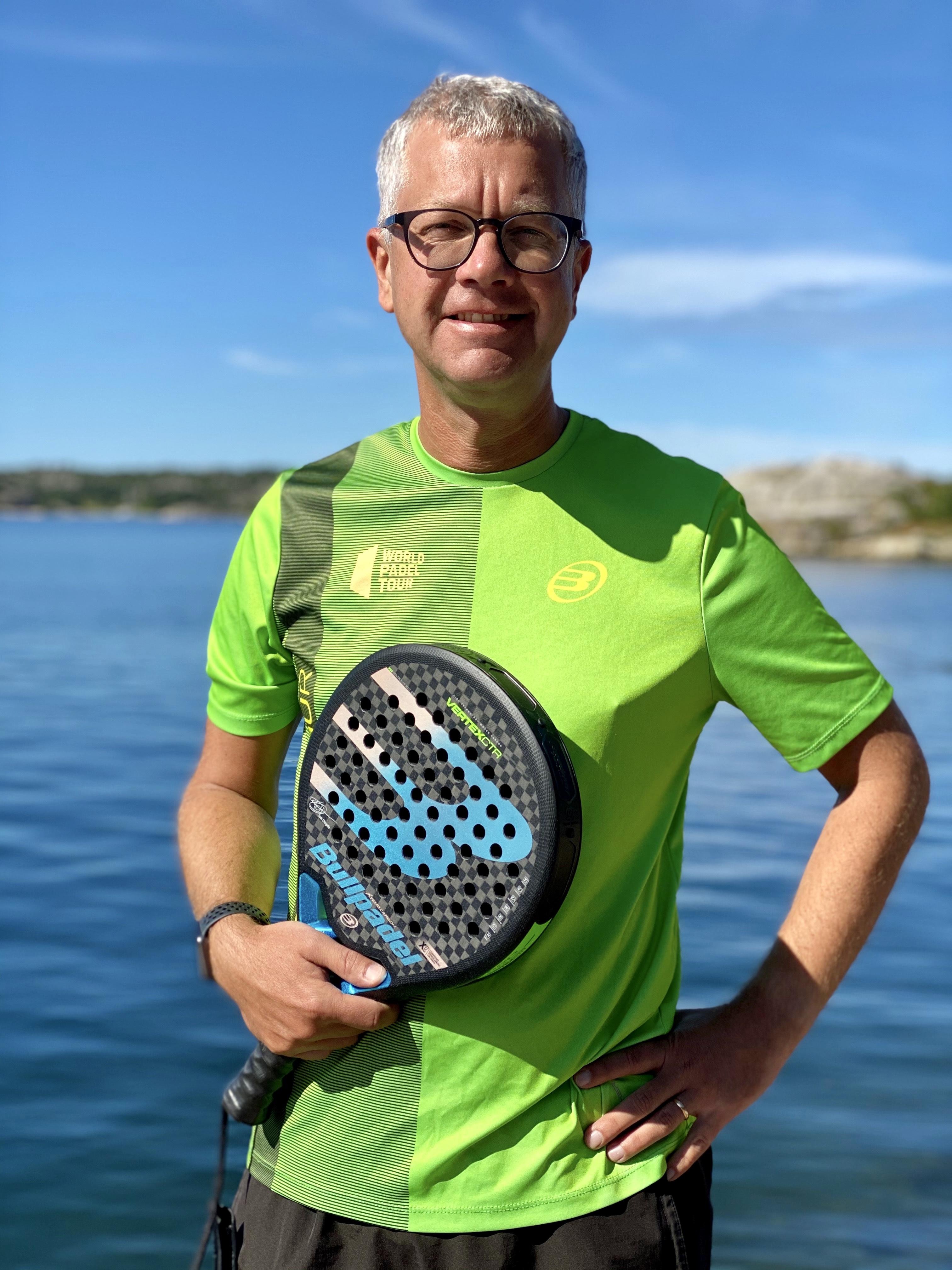 Padel kommer bli en av de stora svenska folksporterna!